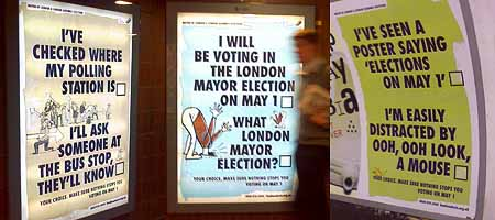 London Elects posters