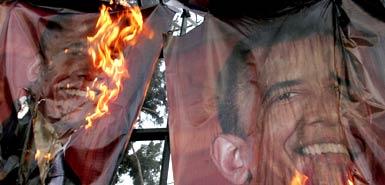 burning-obama