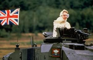 Thatcher on Tank